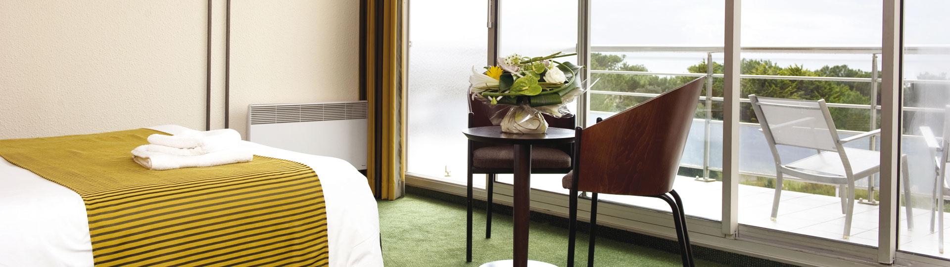 Chambre familiale - Hôtel *** Les Jardins de l'Atlantique