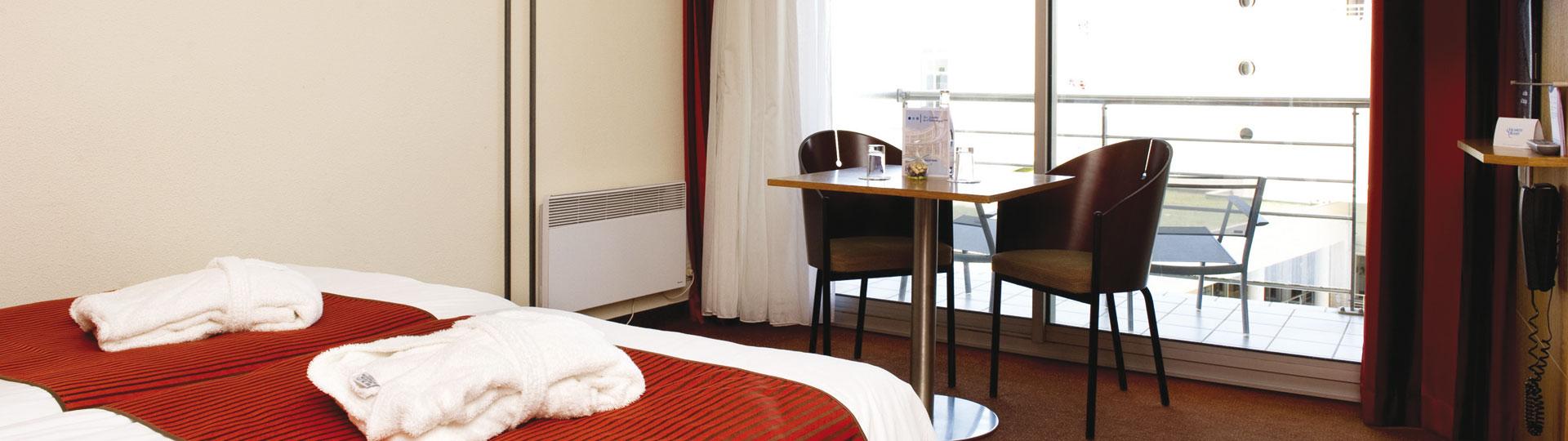 Chambre triple - Hôtel *** Les Jardins de l'Atlantique