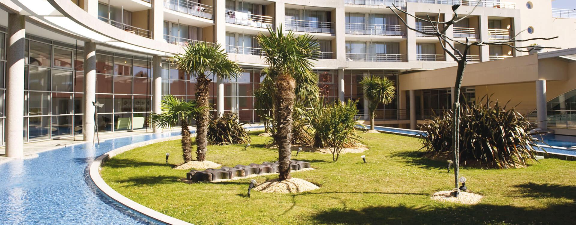 Vue extérieure - Hôtel *** Les Jardins de l'Atlantique