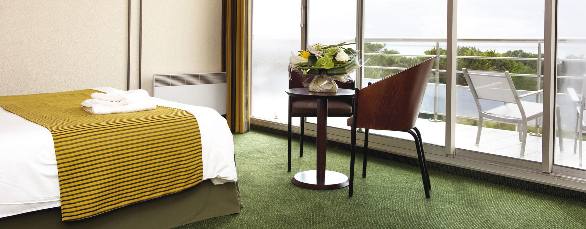 Chambres quadruple - Hôtel *** Les Jardins de l'Atlantique