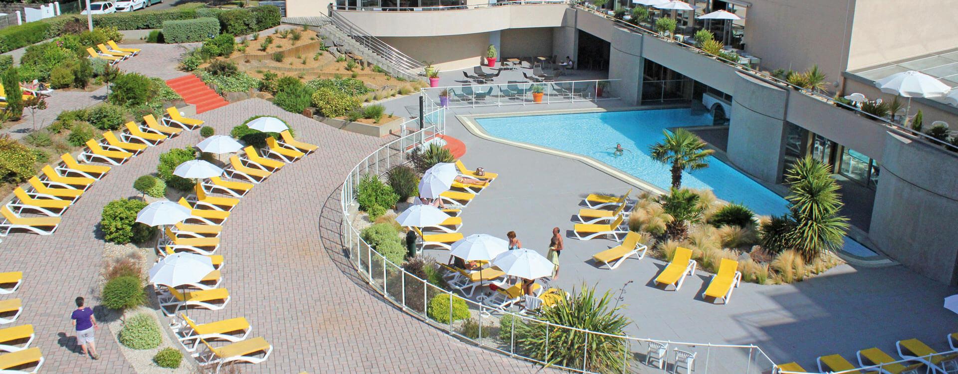 Espace aquatique - Hôtel *** Les Jardins de l'Atlantique
