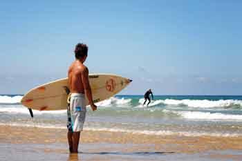 surfeur - sables olonne