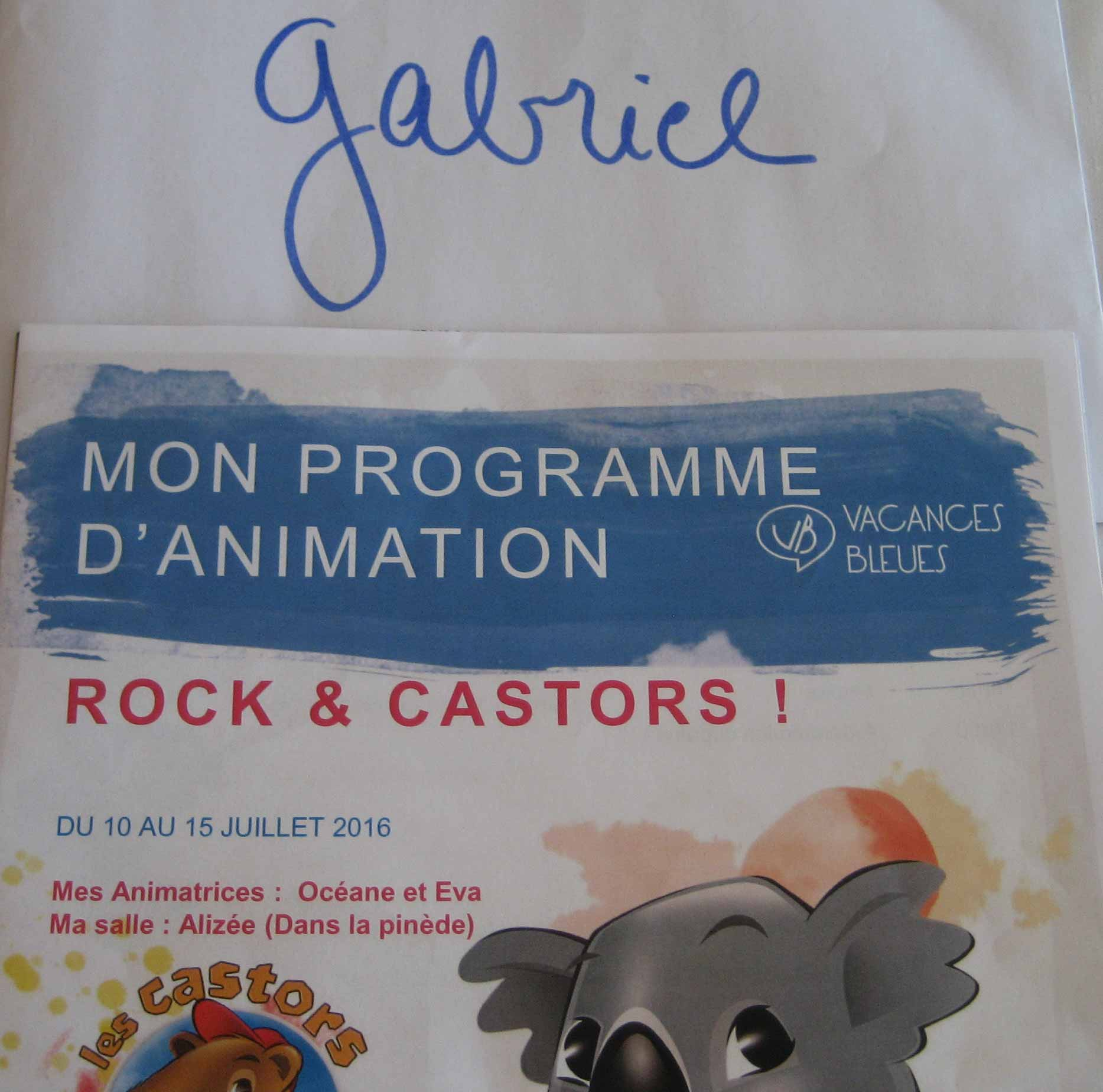 programme animation club enfants