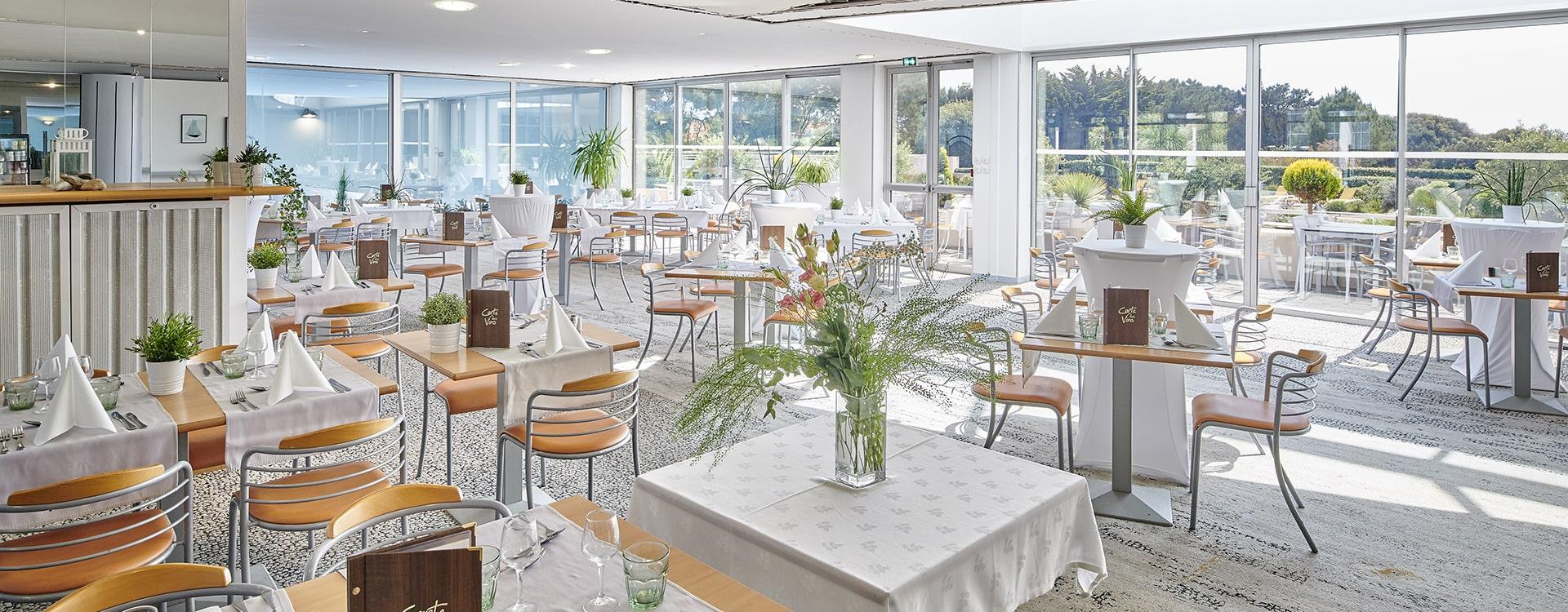 Jardins de l'Atlantique restaurant