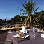 restaurant vue mer hotel les jardins de l'atlantique